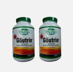 加拿大直邮包邮包税Organika Goutrin 痛风灵胶囊降尿酸黑樱桃精华 270粒  两瓶