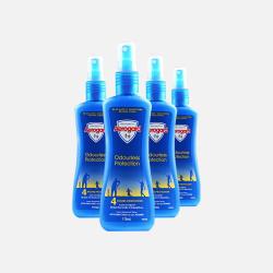 4瓶 澳洲直邮 【免税包邮】 Aerogard 儿童宝宝(一岁以上)温和无味驱蚊水 喷雾型 175ml