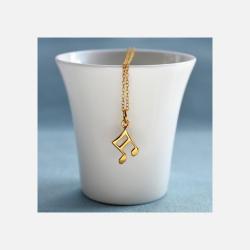 英国直邮【包邮包税】Lily charmed 金色音阶符项链