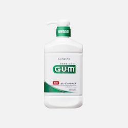 日本直邮【包邮包税】GUM 全仕康牙周活力液 500ml 香草味 (附赠80ml)