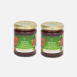 英国直邮【包邮包税】Waitrose 皇家草莓果酱 340g*2瓶