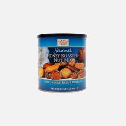 SAVANNA/蜂蜜混合综合坚果仁干果组合灌装孕妇零食(蓝罐)850g (美国直邮/包邮包税)