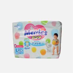 【包邮包税】日本Merries花王PL27(9-14kg)拉拉裤
