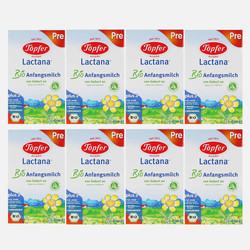 德国直邮【包邮包税】Topfer 德国特福芬有机奶粉pre段( 0-6个月 )600g*8盒装