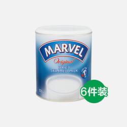 英国直邮【包邮包税】英国MARVEL成人脱脂高钙奶粉 198g 6罐装