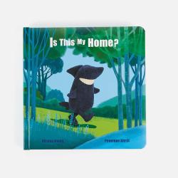 新西兰直邮【包邮包税】儿童早教童话故事书 婴幼儿图画书 可擦拭 《这是我的家吗》