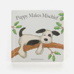 新西兰直邮【包邮包税】儿童早教童话故事书 婴幼儿图画书 可擦拭 《狗子恶作剧》