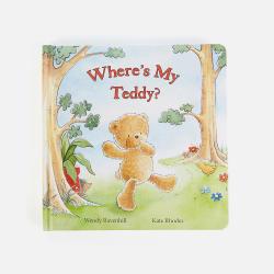 新西兰直邮【包邮包税】儿童早教童话故事书 婴幼儿图画书 可擦拭 《我的泰迪熊在哪?》