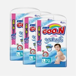 【包邮包税 3包装】日版大王(维E)纸尿裤L70片
