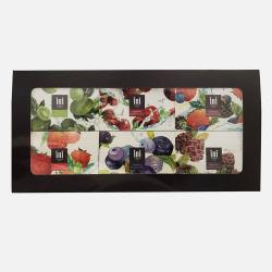 新西兰直邮【包邮包税】Ini 莓果礼盒 手工祛角质磨砂洁面皂(蓝莓+蔓越莓+黑莓+奇异果莓+草莓+混合莓子)120g*6