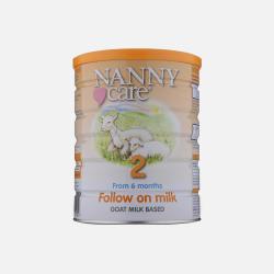 英国直邮【包邮包税】英国NannyCare高端羊奶粉2段 6-12个月 900g