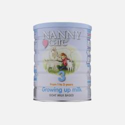 英国直邮【包邮包税】英国NannyCare高端羊奶粉3段 1-3岁 900g