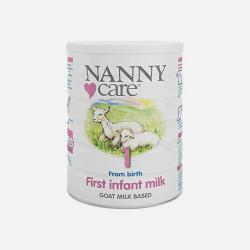 英国直邮【包邮包税】英国NannyCare高端羊奶粉1段 0-6个月 900g