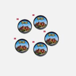 【5盒装】【丹麦直邮包邮包税】丹麦曲奇明信片特别版454克*5