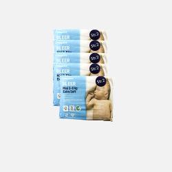 【5袋装】【丹麦直邮包邮包税】Rema1000 2号超柔软纸尿裤28片装(适用婴儿体重3-6KG)