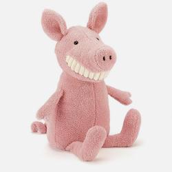 Jellycat 邦尼 呲牙小猪(粉色 大号/36cm) 安抚玩偶 柔软绒毛 新西兰直邮包邮包税