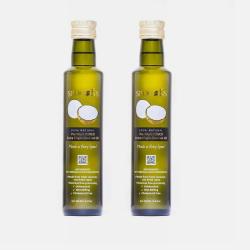 马来西亚直邮【包邮包税】SPOONS HEVCO 100%天然 椰子油500ml*2瓶
