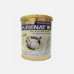 马来西亚直邮包邮包税Bonlife PURENAT 山羊奶粉 400克 1桶