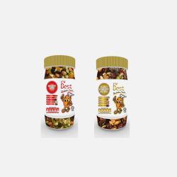 马来西亚直邮包邮包税Mr Best 核桃蔓越莓坚果混合 180g + 健康坚果 180g