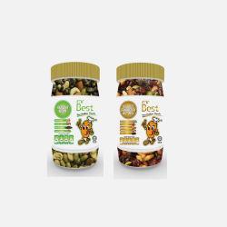 马来西亚直邮包邮包税Mr Best 核桃蔓越莓坚果混合 180g + 减肥坚果 180g